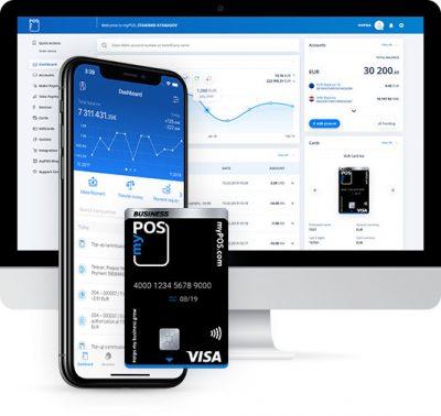 myPOS credit card account